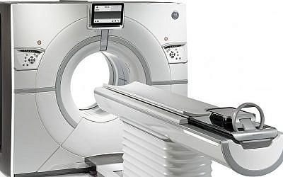 GE Healthcare Revolution CT Scanner (Courtesy)