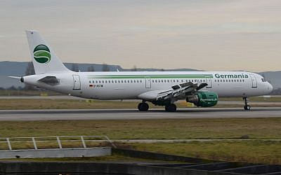 Germania Airlines  Germania Airbus A321-211,  23 December 2015 (CC BY-SA dxme, Wikimedia)