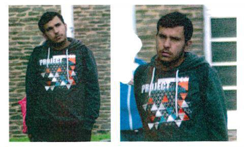 Photo provided by police Sachsen shows Syrian 22-year-old Jaber Albakr from Damascus (Police Sachsen via AP)