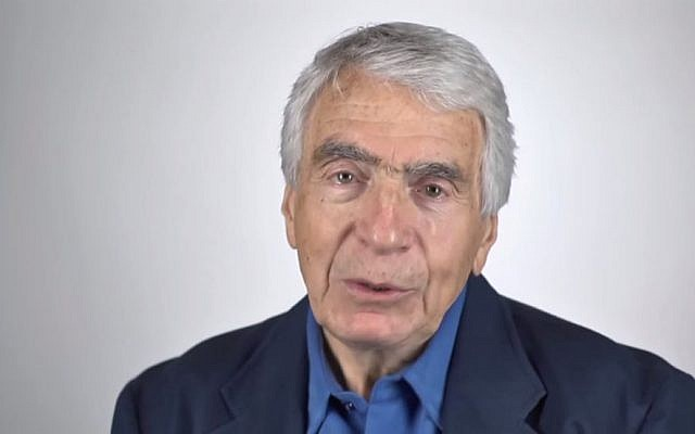 Gordon Davidson, Founding Artistic Director of Center Theatre Group/Mark Taper Forum in Los Angeles (Screen capture: YouTube)
