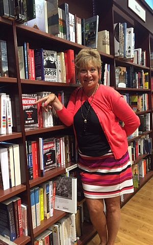 Sue-Ann Levy with her book, newly on the shelf at Chapters bookstore in Bayview Village, Toronto. (Courtesy)