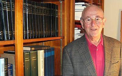 Jacob Neusner in 2008 (Emily Darrow, courtesy Bard College)
