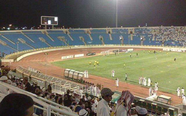 The King Abdullah Sport City Stadium in Jeddah, Saudi Arabia. (CC, BY-SA, Wikimedia)