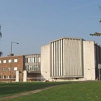 Finchley United Synagogue (David Hawgood / Wikipedia)