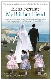 The cover of Elana Ferrante's 'My Brilliant Friend.' (courtesy)