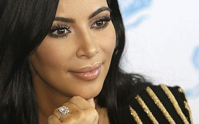 In this June 24, 2015 file photo, American TV personality Kim Kardashian attends the Cannes Lions 2015, International Advertising Festival in Cannes, southern France. (AP/Lionel Cironneau)