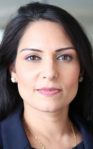 UK international development minister MP Priti Patel. (Wikipedia/Russell Watkins/Department for International Development/CC BY 2.0)