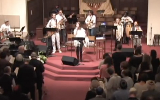 Nashuva, a spiritual community in Los Angeles, will live stream its Kol Nidre services on the evening of Oct. 11, 2016. (Screenshot from YouTube)