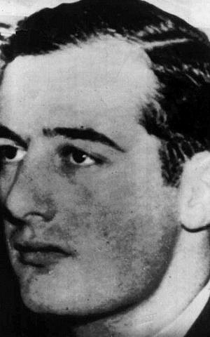 This undated handout photo from Pressens Bild shows Swedish diplomat and World War II hero Raoul Wallenberg. (Pressens Bild /AP, File)