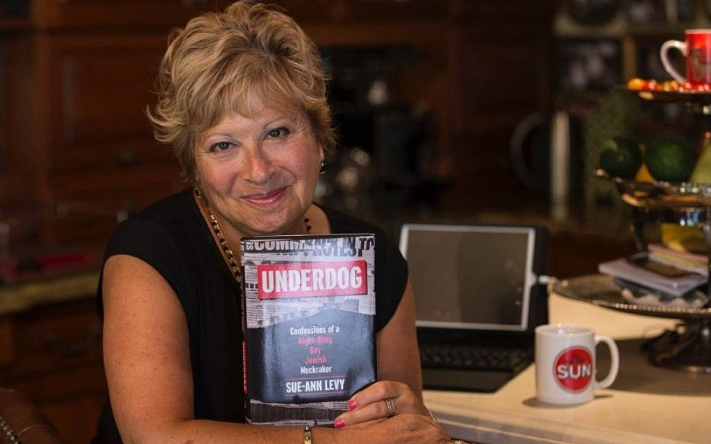 Sue-Ann Levy at the September 14, Hart House book launch of her new book, 'Underdog: Confessions of a Right-Wing Gay Jewish Muckraker.' (Veronica Henri)