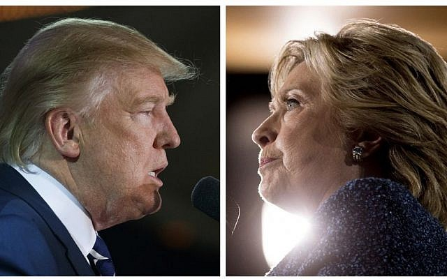 GOP nominee Donald Trump (AP/Evan Vucci) and Democratic nominee Hillary Clinton (AP/Andrew Harnik)