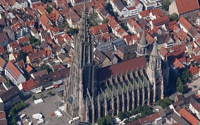 Ulm Minster is the largest church tower in the world (CC BY-SA Karle3, Wikipedia)