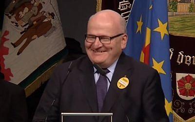 Czech Culture Minister Daniel Herman (YouTube screenshot)