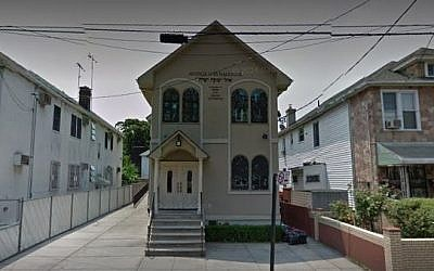 The Avenue O Synagogue in the Midwood section of Brookyln, New York. (Screen capture: Google Maps)