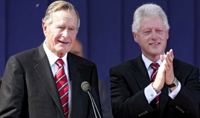 Bush Handover Note To Clinton Has Americans Nostalgic  The Times