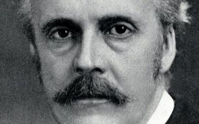 Arthur Balfour (photo credit: Wikimedia Commons)