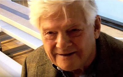 Holocaust survivor George Brady (YouTube screenshot)
