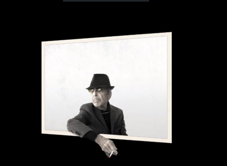 Detail from Leonard Cohen's final album, You Want it Darker  (Youtube screenshot )