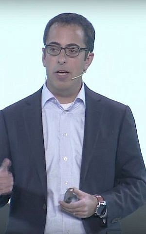 Otto co-founder Lior Ron (YouTube screenshot)