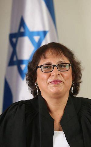 Judge Hagit Mack-Kalmanovitz of the Jerusalem Magistrate's Court (Judicial Authority)