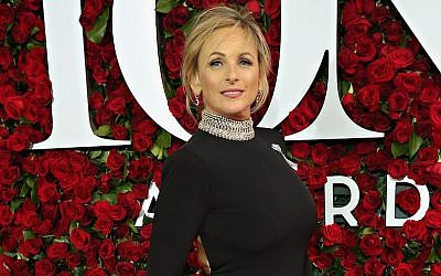Actress Marlee Matlin attends the 70th Annual Tony Awards at The Beacon Theatre on June 12, 2016 in New York City.  (Photo by Cindy Ord/Getty Images for Nordstrom via JTA)