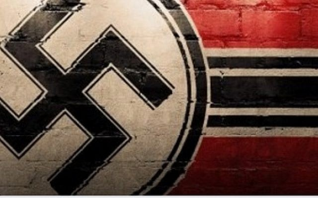 Illustrative. An image used by a neo-Nazi group on Facebook (screen shot)