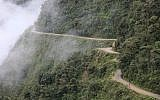 """The Yungas Road in Bolivia, commonly known as the """"Road of Death."""" (Alex Proimos)"""