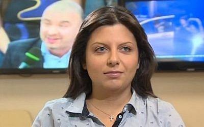 RT editor-in-chief Margarita Simonyan (YouTube screenshot)