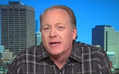 Former Boston Red Sox pitcher Curt Schilling on CNN, October 22, 2016 (YouTube screenshot)