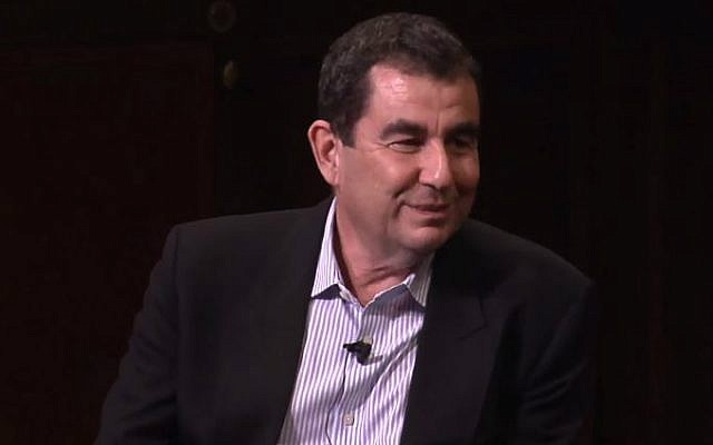 Israeli journalist Ari Shavit. (YouTube screen capture)