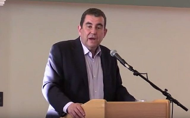 Haaretz journalist Ari Shavit. (Screenshot/YouTube)