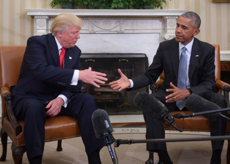 Barack Obama offers Trump advice in Inauguration letter