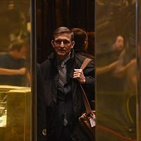 Retired general Michael Flynn arrives at Trump Tower for meetings with President-elect  Donald Trump  in New York, November 16, 2016. (AFP/TIMOTHY A. CLARY)