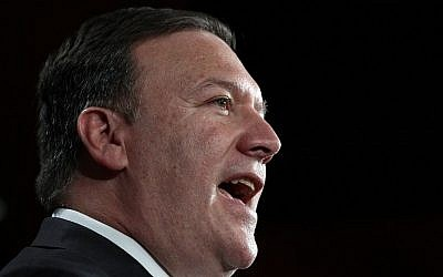 CIA Director Mike Pompeo. (AFP/ Getty Images North America/Win McNamee)