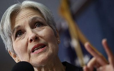 This file photo taken on August 23, 2016 shows Green Party presidential nominee Jill Stein during a press conference at the National Press Club in Washington, DC. (AFP PHOTO/GETTY IMAGES NORTH AMERICA/WIN MCNAMEE)