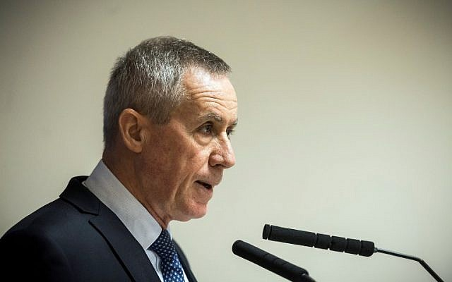French public prosecutor Francois Molins addresses a press conference at the Paris courthouse on November 25, 2016, following the arrest of a group of suspected extremists preparing an attack in the area of the capital. (AFP/Lionel Bonaventure)