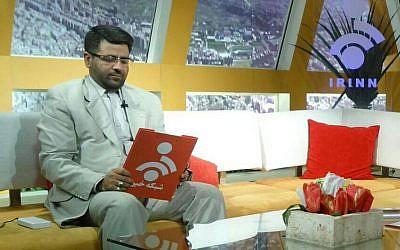 Iranian journalist Mohsen Khazaei (Facebook)