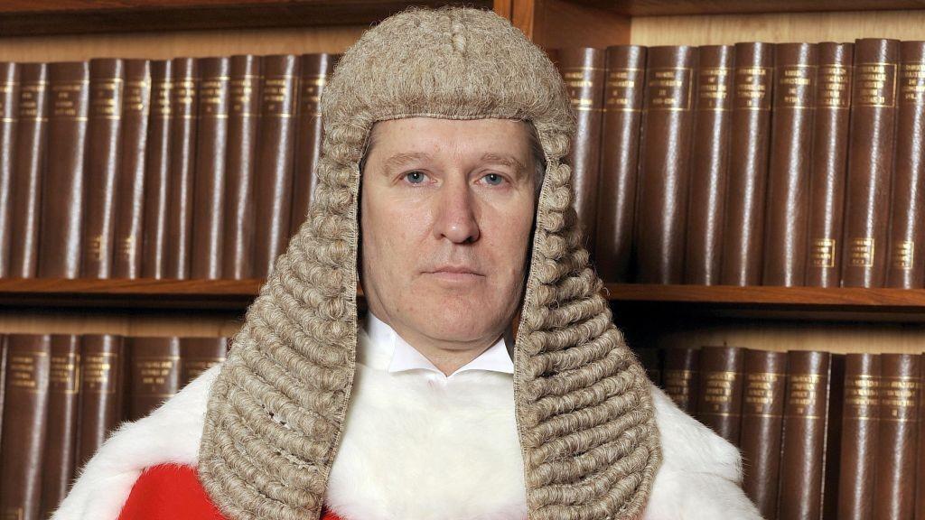 High Court Judge Peter Jackson. (Garry Lee/Avalon via AP)