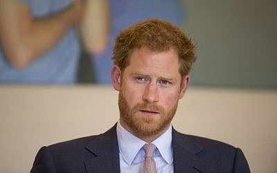 Britain's Prince Harry takes part in a round table discussion with HIV doctors at King's College Hospital in south London, July 7, 2016. (AP Photo/Matt Dunham, Pool, File)
