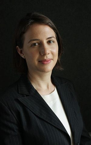 Naomi Krieger Carmy the director of the UK Israel Tech Hub at the British Embassy (Courtesy: Sagi Shuali)
