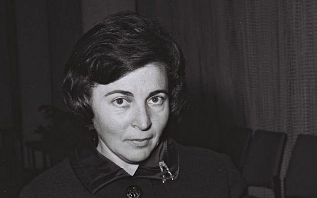 Miriam Eshkol Wife Of Israels 3rd Prime Minister Dies At 87 The