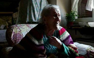 Emma Morano, the last living person born in the 1800s. (YouTube screen capture)
