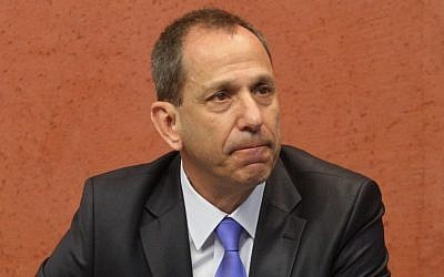 Israel Securities Authority chief Shmuel Hauser (Roni Schutzer/Flash90)