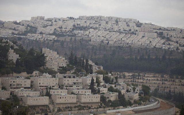 The East Jerusalem neighborhood of Ramat Shlomo, November 17, 2015. (Lior Mizrahi/Flash90)