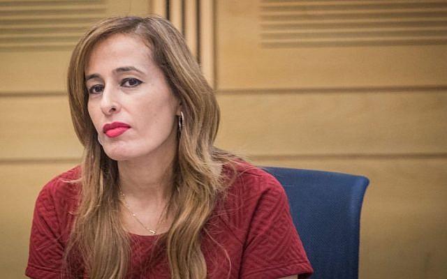 Knesset Member Nava Boker, June 14, 2016. (Hadas Parush/Flash90)