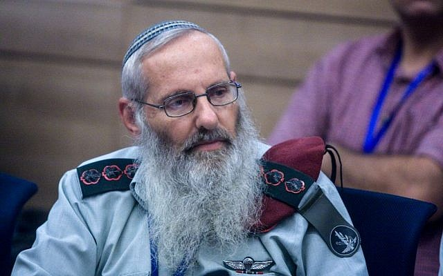 Rabbi Eyal Karim attends a State Control committee meeting, in the Israeli parliament, on September 13, 2010. (Lior Mizrahi/Flash90)