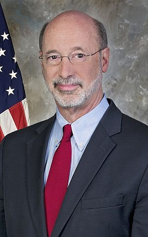 Pennsylvania Governor Tom Wolf (CC BY: Governor Tom Wolf: Wikimedia)