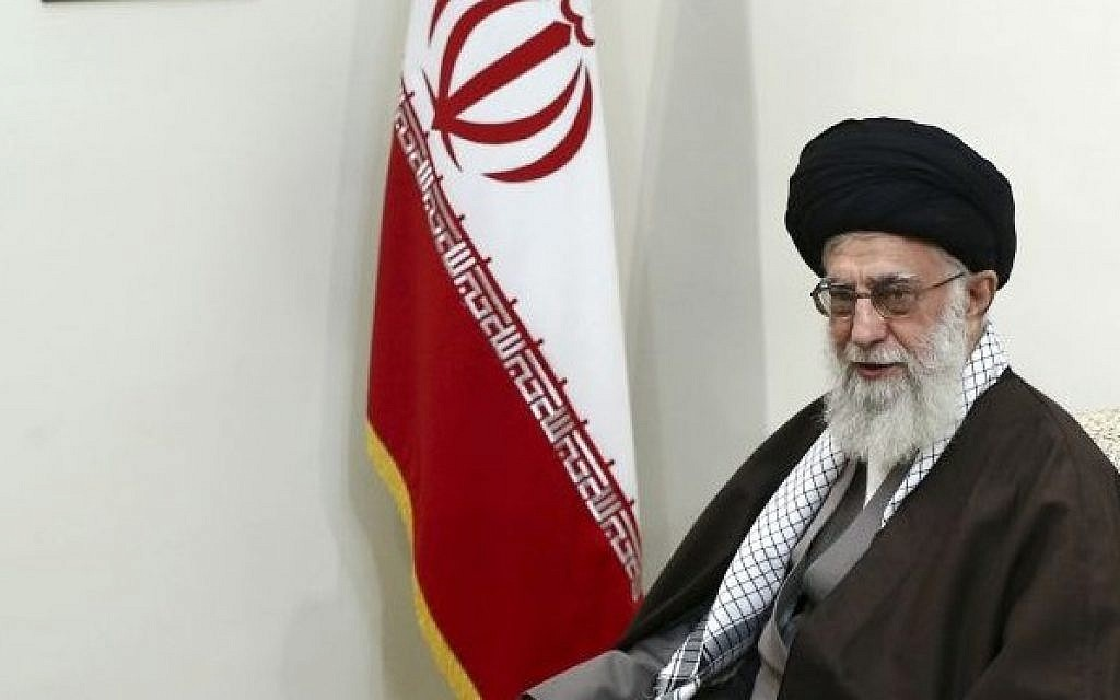 Supreme Leader Ayatollah Ali Khamenei in Tehran, Iran, November 22, 2016. (Office of the Iranian Supreme Leader via AP)