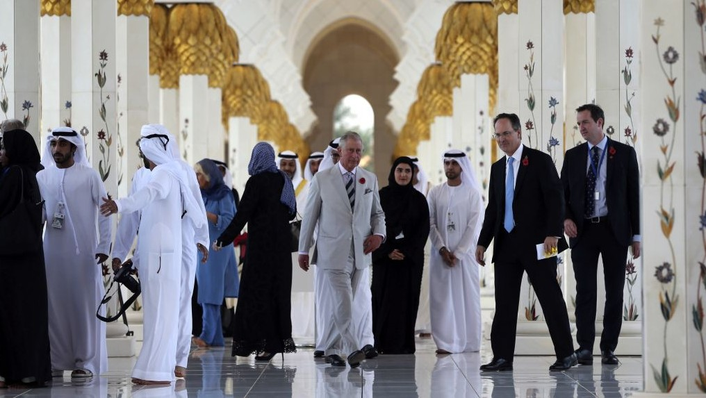 Britain S Prince Charles Camilla Visit Uae Mosque On Tour