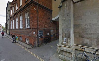 Mill Lane, Cambridge, UK. (screen capture Google maps)